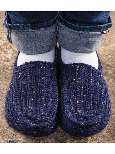ANNIE'S SIGNATURE DESIGNS: Comfort Zone Slippers Crochet Pattern