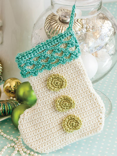 Baby's First Stocking Crochet Pattern
