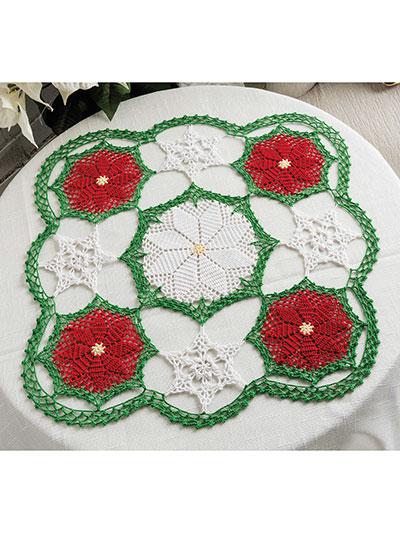 Winter Cheer Centerpiece Crochet Pattern