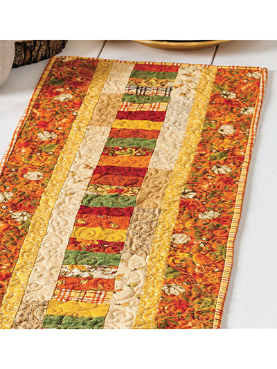 Autumn Roads Runner Quilt Pattern