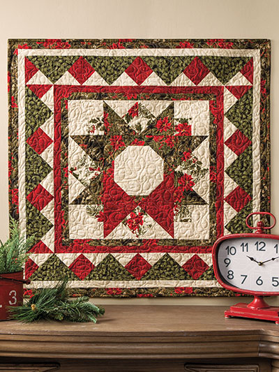 Seasons Greetings Wall Hanging Quilt Pattern