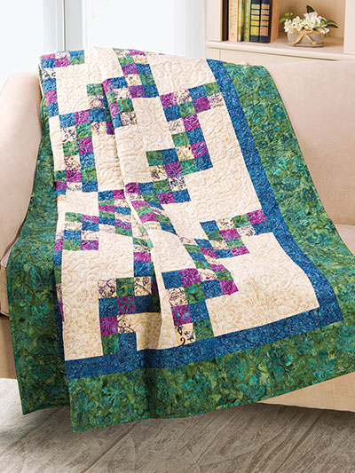 EXCLUSIVELY ANNIE'S: Zigzag Four-Patch Quilt Pattern