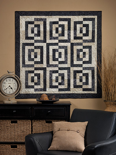 EXCLUSIVELY ANNIE'S: Bold & Beautiful Quilt Pattern