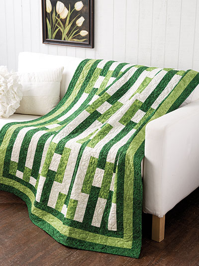 EXCLUSIVELY ANNIE'S: Buckle Up Quilt Pattern