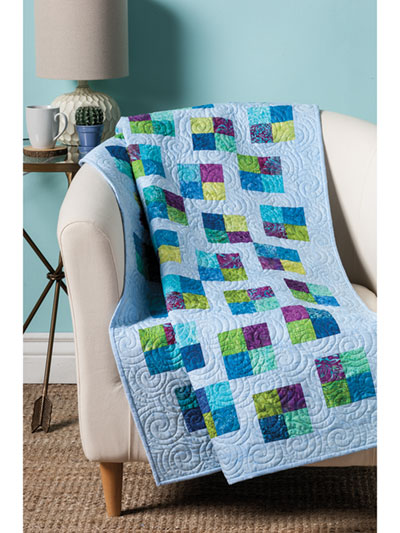 EXCLUSIVELY ANNIE'S: Uneven Four-Patch Quilt Pattern