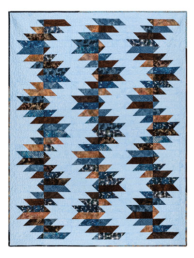 EXCLUSIVELY ANNIE'S: Buzz Saw Quilt Pattern