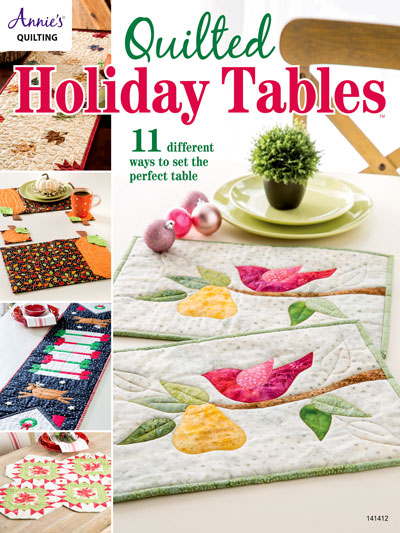 Quilted Holiday Tables Pattern