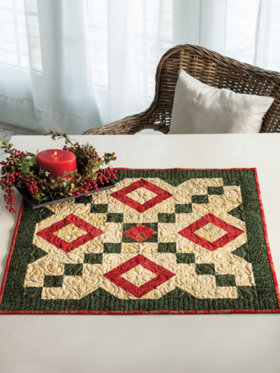 EXCLUSIVELY ANNIE'S: Holiday Delight Quilt Pattern