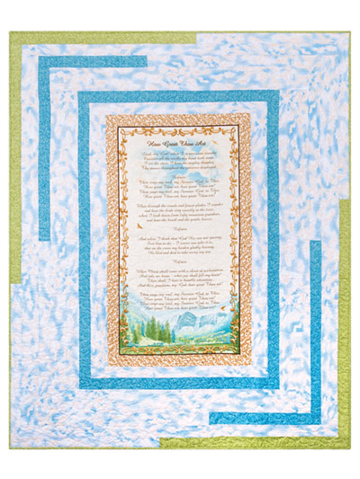 EXCLUSIVELY ANNIE'S: How Great Thou Art Quilt Pattern