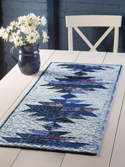 EXCLUSIVELY ANNIE'S: Blue Hawaiian Mountains Quilt Pattern