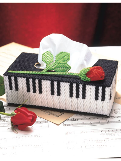 Rose Melody Tissue Cover Pattern