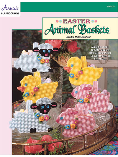 Easter Animal Baskets Pattern