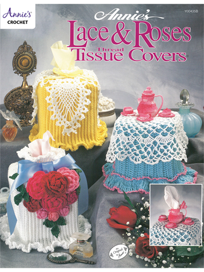 Lace & Roses Tissue Covers Crochet Pattern