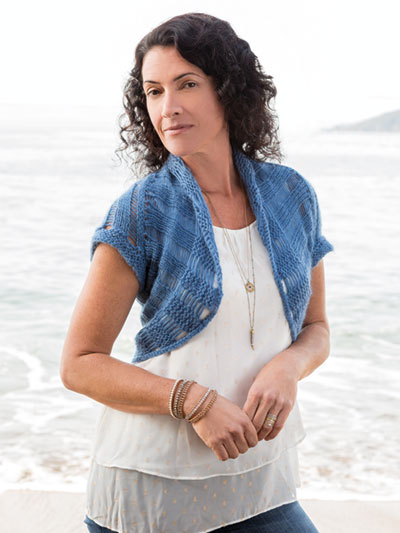 ANNIE'S SIGNATURE DESIGNS: Pacifica Shrug Knit Pattern