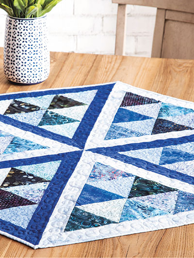 Roku Slices Quilt Pattern