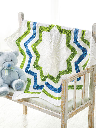 Rippling Waves Crochet Pattern