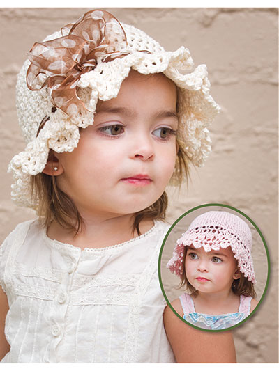 Easy Springtime Hats Crochet Pattern