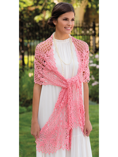 I Do Shawl Crochet Pattern
