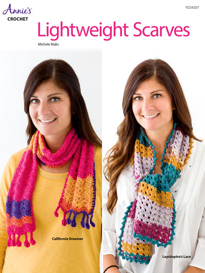 Lightweight Scarves Crochet Pattern