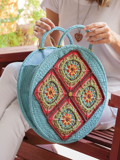 Boho Eclipse Bag Crochet Pattern