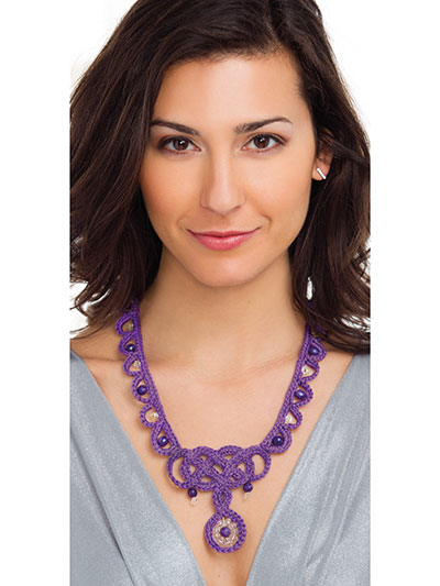 Shannon Necklace Crochet Pattern