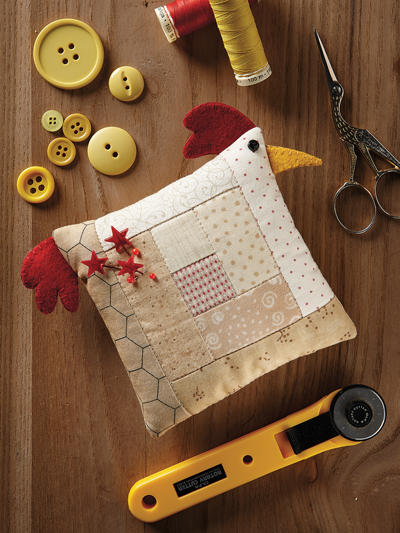 Chicken Pincushion Quilt Pattern
