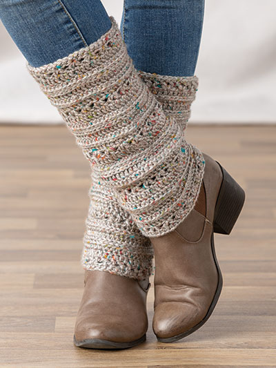 Cold Day Leg Warmers Crochet Pattern