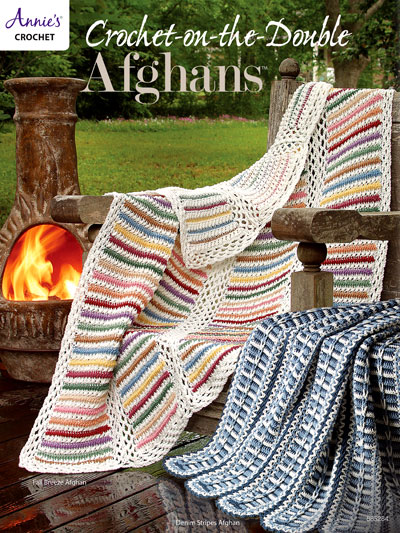Crochet-On-The-Double Afghans Pattern