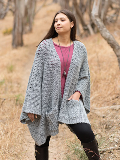 ANNIE'S SIGNATURE DESIGNS: Seven Seas Wrap Crochet Pattern