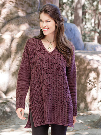 Inverin Sweater Crochet Pattern