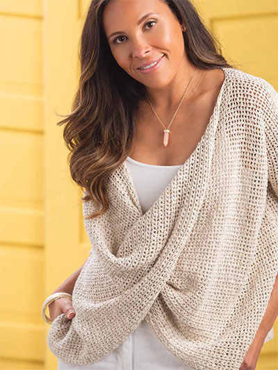 Crisscross Mesh Top Crochet Pattern