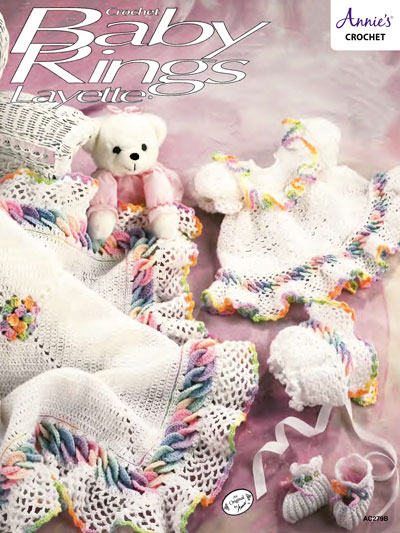 Baby Rings Layette Crochet Pattern