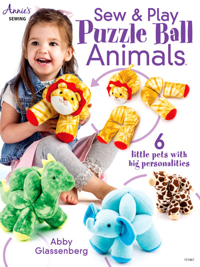 Sew & Play Puzzle Ball Animals