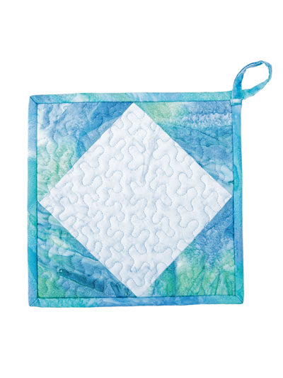 Square in a Square Quilt Pattern