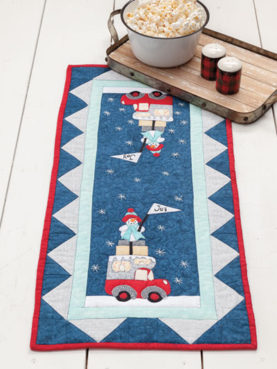 Joy Table Topper Quilt Pattern