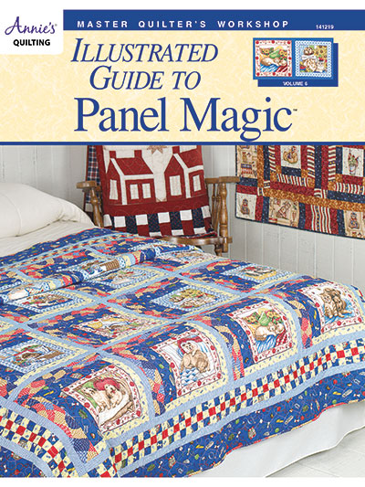 Master Quilter's Workshop Illustrated Guide to Panel Magic Pattern