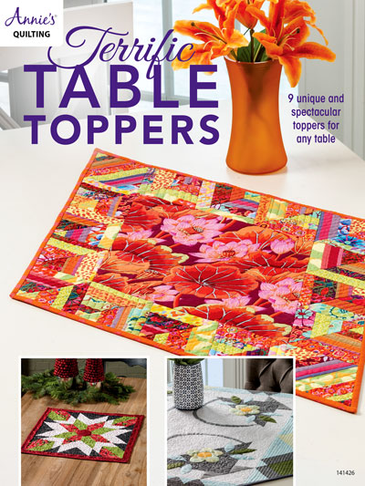 Terrific Table Toppers Quilt Pattern Book