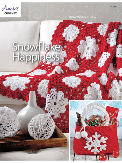 Snowflake Happiness Crochet Pattern