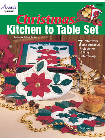 Christmas Kitchen to Table Set Quilt Pattern