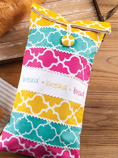 Fresh Bread Bag Sewing Pattern