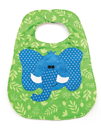 Jungle Fun Bib Sewing Pattern