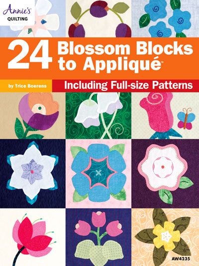 24 Blossom Blocks to Applique