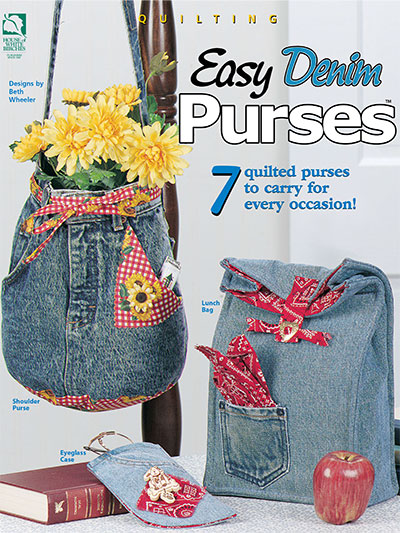 Easy Denim Purses