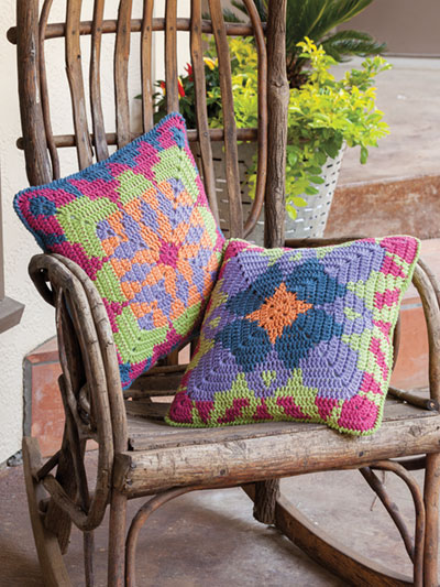Tapestry Pillows Crochet Pattern