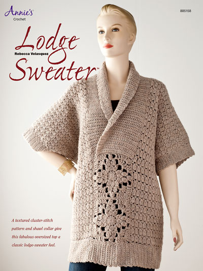 Lodge Sweater Crochet Pattern