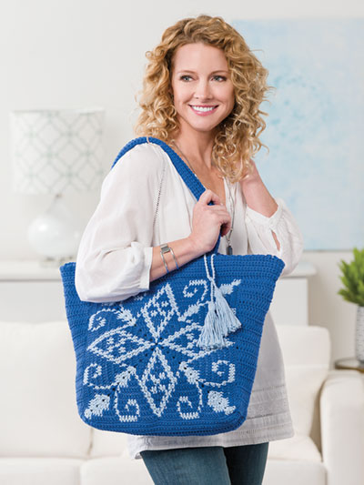 Tapestry Tote Crochet Pattern