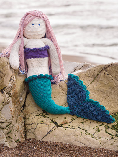 Mermaid Doll Crochet Pattern