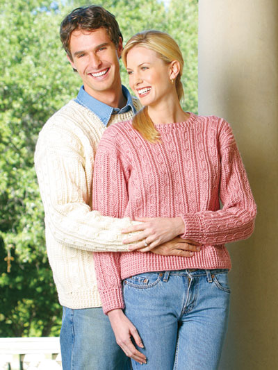 His & Hers Sweaters Pattern