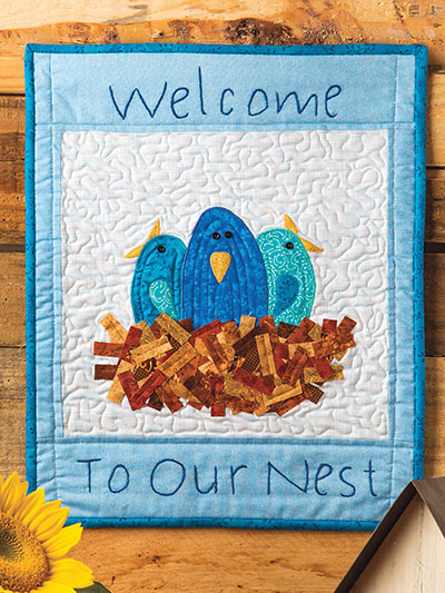 Welcome to Our Nest Wall Hanging Pattern