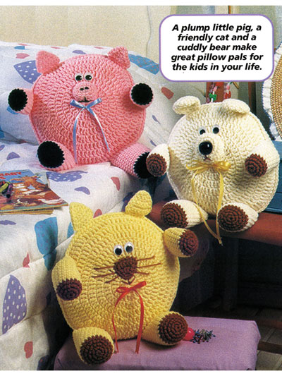 Roly-Poly Pillows Crochet Pattern